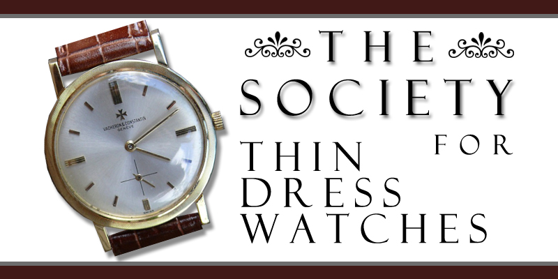"New Logo for the ""DRESS WATCH SOCIETY"""