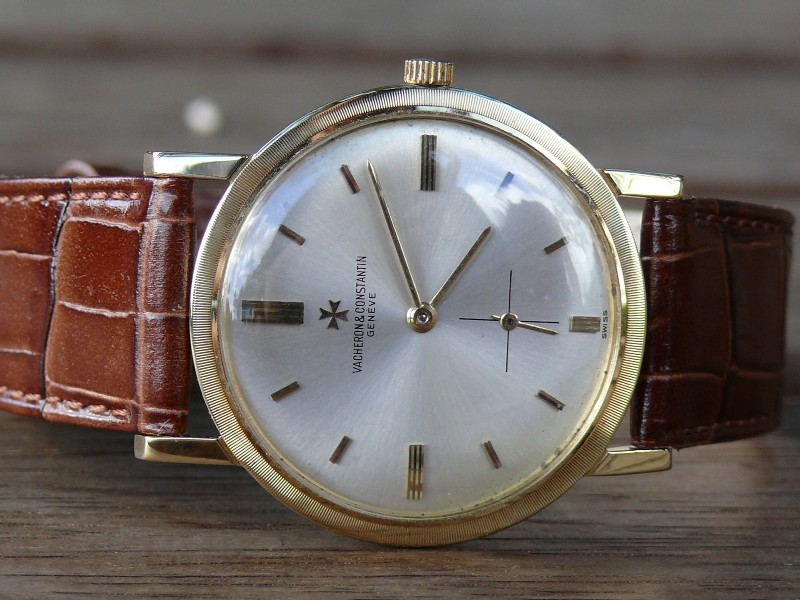 Did Vacheron ever use Gold Plated crowns?